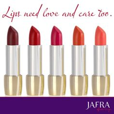 Give your lips the best!  Royal Jelly Luxury Lipstick. #JAFRA #Ajafracosmetics