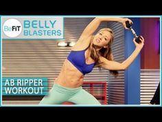 BeFiT Belly Blasters: Ab Ripper Workout- Nicola Harrington - YouTube
