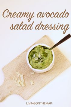 5 healthy homemade salad dressings that are super easy to make, from creamy avocado to spicy peanut, lemony mustard and sweet sour tahini, these dressings might just make your salads dreams come true. Big Salad, Avocado Salad, Salad Dressing, Salads, Vegan Recipes, Vegetables, Eat, Healthy, Ethnic Recipes