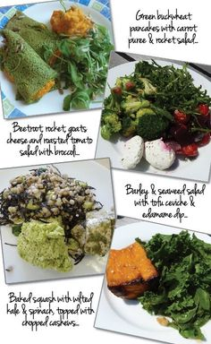 References a book and alkaline meals provider, and offers useful comments of 'going alkaline' as well as a sample 3-day menu.