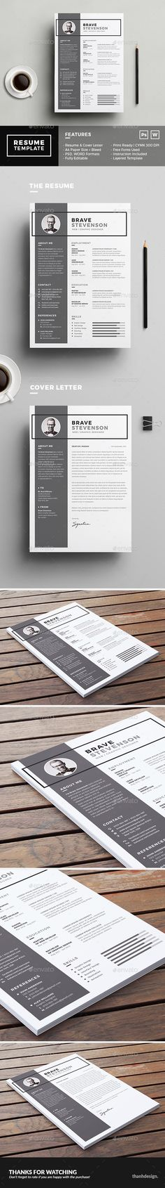 The Resume Template PSD, MS Word. Download here: https://graphicriver.net/item/the-resume/17430659?ref=ksioks