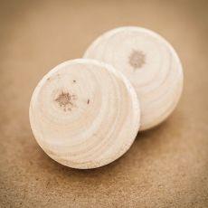 Dřevěné pecky -  Natural