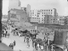 Birmingham 1940 bombed after the blitz.