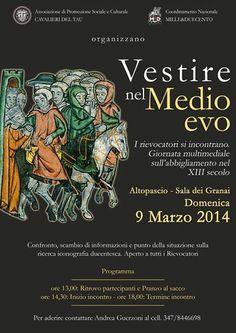 MedioEvo Weblog: Vestire nel Medioevo, confernza a Altopascio (LU)