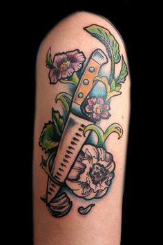 #tattoofriday – Food Tattoo | Follow the Colours