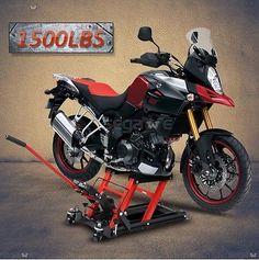 Motorcycle ATV Jack Lift Stand Quad Dirt Street Bike Hoist  1500 Lbs New 6952938336697 | eBay