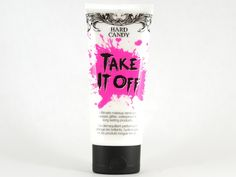 Hard Candy Take It Off- Makeup remover. I use it to take off eye makeup.