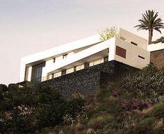 Vivienda Unifamiliar en ladera . Tacoronte . Santa Cruz de Tenerife . España