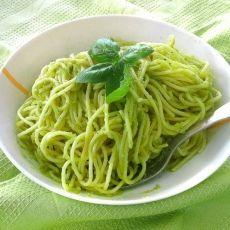 Avocado pesto Avocado Pesto, Spaghetti, Pasta, Ethnic Recipes, Food, Essen, Meals, Yemek, Noodle