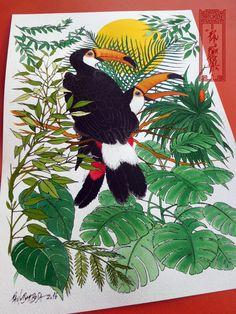 Toco Toucan Art By Paulo Barbosa - Ariuken Art on Facebook