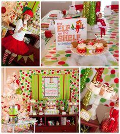 Santas Little Helpers Christmas Party Planning Ideas Supplies Idea