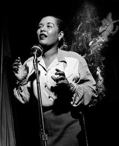 Billy Holiday, New York, 1949