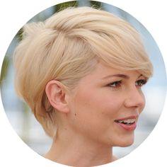 Michelle Williams Short Haircut