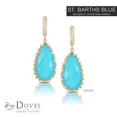 Don't wait...make the #escape now with St. Barths Blue. Only from Doves by Doron Paloma.