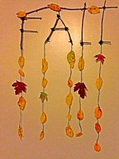 DIY Fall Decor - Fun Toddler Activity - updated at Fun Activities For Toddlers, Major Holidays, Fall Decor, Diy Projects, Diy Crafts, Christmas, Xmas, Make Your Own, Autumn Decorations
