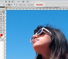 Cutting Out Hair in Photoshop CS5