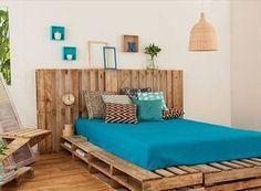 Un letto con i pallet! Ecco 15 idee da cui trarre ispirazione…