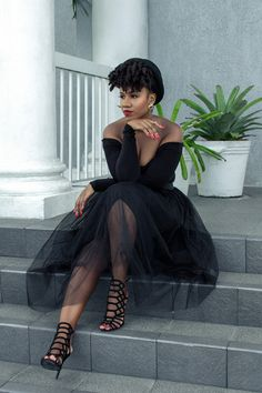 BLACK TULLE SKIRT Tulle skirt from Boohoo  Fashion By kiss My Style
