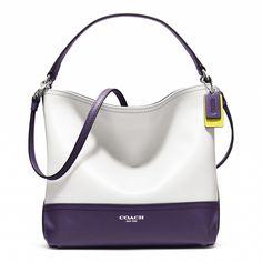 The Coach Legacy Colorblock mini Bucket Bag