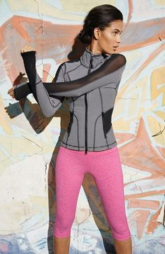 Striped workout jacket @Nordstrom http://rstyle.me/n/i6hn9nyg6