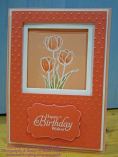 Knall Crafting!: More Tulips...