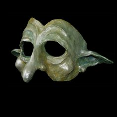 Paper mache mask. Marion Westerman
