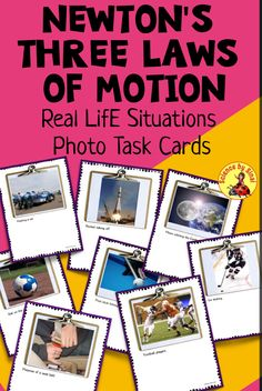 Science Labs, Science Resources, Science Ideas, Science Activities, Life Science, Science Clipart, Newtons Laws, Force And Motion, Grades