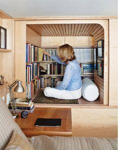 Cận cảnh căn hộ 22 m2 có cả phòng đọc sách - Thị trường - Zing.vn