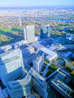 From DC Tower 1 Vienna, Austria, City Photo, Tower, Rook, Lathe, Building