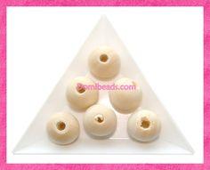 Perles Bois,toutes sortes de perles en Bois,pour Perles Perlées ou Autre utilisation.
