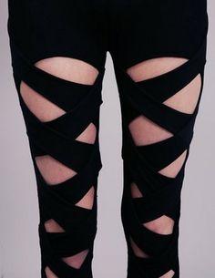 DIY Mondays: Bandage Leggings   More Composition Please