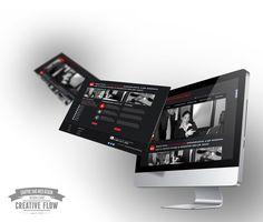 Layout strony biura rachunkowego. Projekt zleciła nam Pani Monika Szal z firmy BlaszczykFilm - http://www.blaszczykfilm.pl/