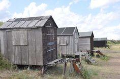 Fantastic old beach huts.…...