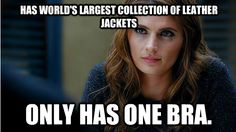 Haha so true! I thought the exact same thing when I first saw the infamous Caskett scene.