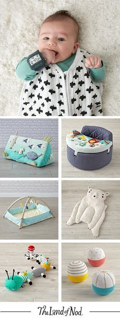 Stock up your nursery with baby gifts and toys that are as unique as the babies that play with them.