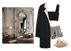 """""""Untitled #66"""" by ahessah ❤ liked on Polyvore featuring Jill Stuart, Yves Saint Laurent, MANGO and UGG"""