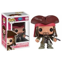 Figura Jack Sparrow Disney Pop Funko