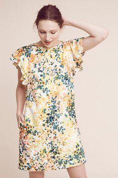 Slide View: 2: Printed Petals Tunic Dress