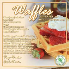 Weigh-Less waffles in 2020 Waffle Recipes, Diet Recipes, Dessert Recipes, Healthy Recipes, Desserts, Yummy Treats, Sweet Treats, Honey Mustard Chicken, Diet Inspiration
