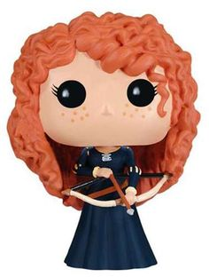 Funko Pop Vinyl Figure Disney Series 5 Merida | eBay I think I might need to own this.