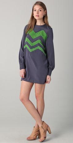 Kalmanovich Kiwi Dress thestylecure.com