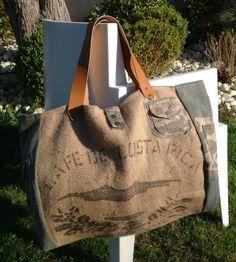 fr_grand_sac_cabas_de_plage_xxl_en_toile_de_jute_ Burlap Tote, Hessian, Sacs Tote Bags, Coffee Bean Bags, Feed Bags, Tapestry Bag, Linen Bag, Bag Patterns To Sew, Cotton Bag