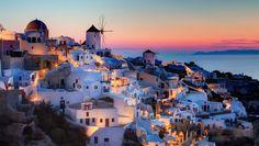Santorini ... Grèce.