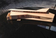 Image 20 of 43 from gallery of Chucao House / ABESTUDIO. West and Southwest Elevations Architecture Model Making, Concept Architecture, School Architecture, Modern Architecture, Architecture Diagrams, Architecture Portfolio, Sea Container Homes, Arch Model, Forest House
