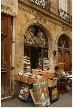 Abbey Bookstore, Paris.