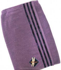 "how to sew a towel wrap by ""Sewing With Nancy"" Zieman | Nancy Zieman Blog"
