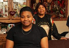 Hillcrest student Jacquline Lane, 17, with the support of her great-aunt and legal guardian Lulu Washington, has worked hard to turn her life around. After getting in trouble with drugs and alcohol and realizing she wanted to take a different path, she now volunteers at Boys and Girls Clubs and strives to be a positive role model