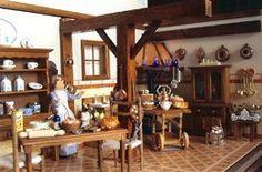 A Casa Rústica e a Cozinha em Miniatura - am-ambientes-em-miniatura