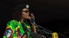 The first lady of Zimbabwe is suspected of severe beating of the model