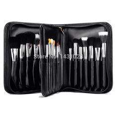 56.99$  Watch here - http://alitv2.worldwells.pw/go.php?t=32301761435 - High-End Quality Professional 29 pcs MC Kabuki Makeup Brush Case tools Csmetic Toiletry Kit Best Goat &Mink Hair Free Shipping
